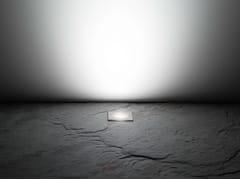 - LED walkover light stainless steel steplight CNC35 Q 12/24V - Lombardo