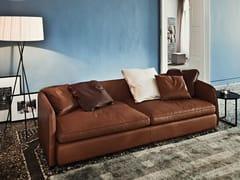 - 3 seater leather sofa COAST | Leather sofa - Arketipo