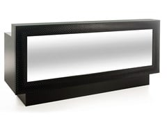 - Reception desk with Built-In Lights COCODESK 220 - Gamma & Bross