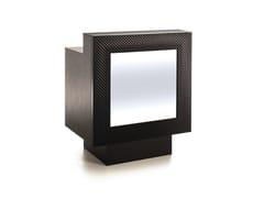 - Reception desk with Built-In Lights COCODESK 86 - Gamma & Bross