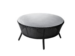 - Round garden side table PARIS | Coffee table - 7OCEANS DESIGNS