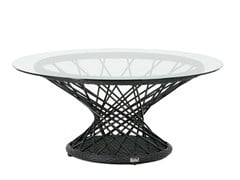 - Round garden side table RAVEL | Coffee table - 7OCEANS DESIGNS