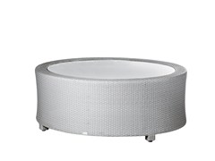 - Round garden side table BAY | Coffee table - 7OCEANS DESIGNS