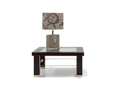 - Low square leather coffee table for living room ASCOT ONE 911 | Square coffee table - Formitalia Group