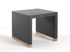 Tavolino quadrato in pelleKAY | Tavolino - GIANFRANCO FERRÉ HOME