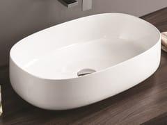 Lavabo da appoggio ovale in ceramicaCOGNAC | Lavabo ovale - ARTCERAM