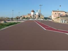 Pavimentazione per ciclismo urbano e aree pedonabiliCOLORSINT - CASALI