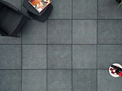 - Outdoor floor tiles with stone effect COLOSSEO QUARZITE SVEDESE - GRANULATI ZANDOBBIO