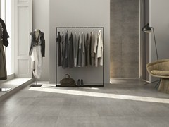 - Porcelain stoneware flooring with concrete effect CONCEPT | Flooring - Ragno