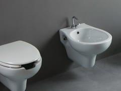 - Wall-hung ceramic bidet CONFORT OPEN | Wall-hung bidet - Alice Ceramica
