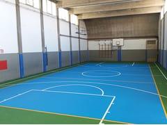 Pavimentazione flottante per campi da tennis e polivalentiCONFOSPORT FL - CASALI