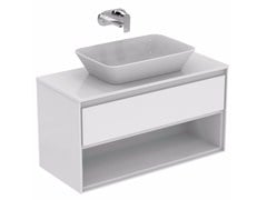 - Lacquered vanity unit with drawers CONNECT AIR - E0828 - Ideal Standard Italia