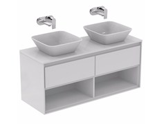 - Double lacquered vanity unit with drawers CONNECT AIR- E0829 - Ideal Standard Italia