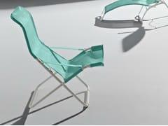 - Folding metal deck chair LIDO | Folding deck chair - FIAM