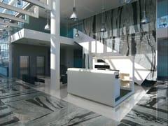 Pavimento/rivestimento in gres porcellanato effetto marmo effetto marmo per interniCOPACABANA EMPEROR - AVA CERAMICA BY LA FABBRICA