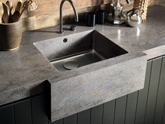 - Single flush-mounted Corian® sink Corian® SPARKLING - DuPont de Nemours Italiana - DuPont ProtectionSolutions