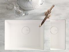 - Lavello a una vasca e mezzo sottotop in Corian® Corian® SPICY - DuPont de Nemours Italiana - DuPont ProtectionSolutions