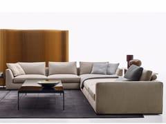 - Corner sectional fabric sofa RICHARD | Corner sofa - B&B Italia