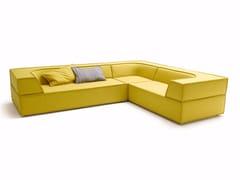 - Corner sectional fabric sofa TRIO | Corner sofa - COR Sitzmöbel Helmut Lübke