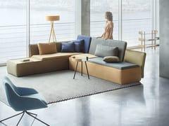 - Corner fabric sofa STREAM | Corner sofa - Palau