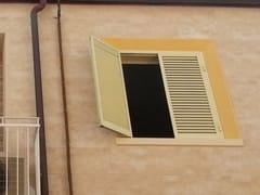 Elemento per sistema a cappotto termico prefabbricatoCornice svasata per scuri finestra - WALL SYSTEM