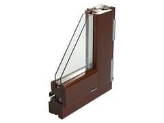 Finestra con doppio vetro in pino masselloCOSMO 68 | Finestra in pino - NUSCO