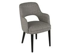- Fabric chair with armrests COSTANZA | Chair with armrests - Hamilton Conte Paris
