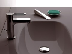 - Countertop single handle washbasin mixer SMART | Countertop washbasin mixer - Daniel Rubinetterie