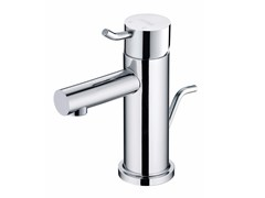 - Countertop single handle chromed brass washbasin mixer SIMPLE | Countertop washbasin mixer - JUSTIME
