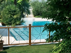 Recinzioni - Recinzione piscina legno ...