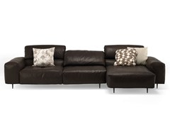- Sectional leather sofa CRAZY DIAMOND | Sectional sofa - Arketipo