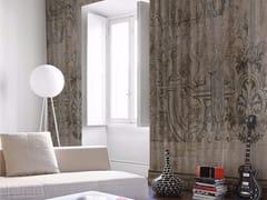 - Panoramic wallpaper CRÊPELÉ 01 - Inkiostro Bianco