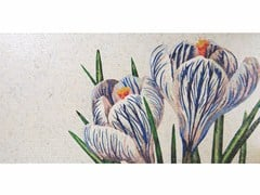- Stained glass mosaic CROCUS A - FRIUL MOSAIC