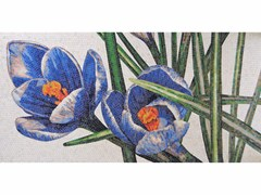 - Stained glass mosaic CROCUS B - FRIUL MOSAIC