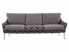 - 3 seater fabric sofa with removable cover CROSS I195 - Segis