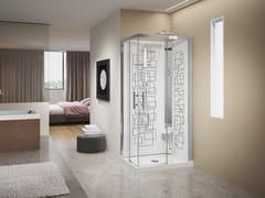 Box doccia multifunzione rettangolareCRYSTAL A 90X70 - NOVELLINI