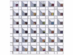 - Mosaico in marmo e vetro BOITE - CONTEMPORARY BOX - CUBE 15 GLASS - Lithos Mosaico Italia - Lithos