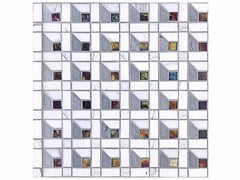 - Mosaico in marmo e vetro BOITE - CONTEMPORARY BOX - CUBE 15 GLASS - Lithos Mosaico Italia - Lithos