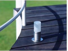 - Stainless steel bollard light for Public Areas CUBIX FL - BEL-LIGHTING