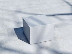 - Concrete outdoor chair CUBO (60) - SIT