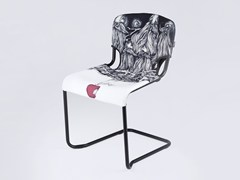 - Cantilever chair D-LIGHT SNOW WHITE AND THE SEVEN DWARFS - KUBIKOFF