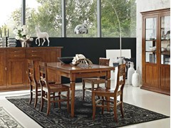 - Extending rectangular table DAMIGELLA | Table - Devina Nais