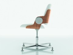 - Executive chair with 4-spoke base DEA | Executive chair - Quadrifoglio Sistemi d'Arredo