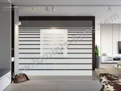 Pellicola per vetri adesiva decorativaDECO-504i - LUMINIS FILMS
