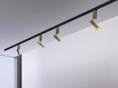 - Faretto a LED orientabile in alluminio a binario DECÒ | Faretto a binario - GLIP by S.I.L.E