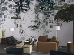 - Contemporary style wallpaper DECODIFICAZIONE 1 - Inkiostro Bianco