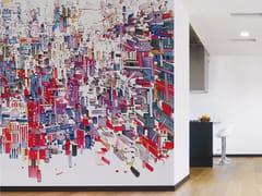- Contemporary style wallpaper DECODIFICAZIONE 4 - Inkiostro Bianco