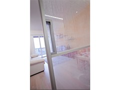 - Decorated glass door DECORFLOU® DESIGN FUZZY - OmniDecor®