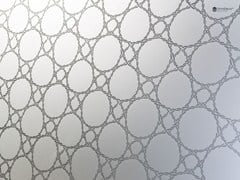 - Decorated glass wall tiles DECORFLOU® DESIGN MESH - OmniDecor®