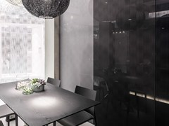 - Decorated glass wall tiles DECORFLOU® DESIGN NUVEM - OmniDecor®